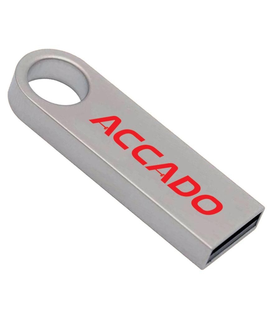 8-16-32 GB Metal USB bellek