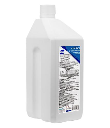 1000 ml. Alkol Bazlı El ve Cilt Antiseptiği
